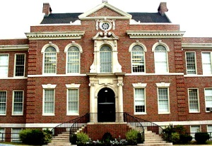 Druid Hills High School - Front of building